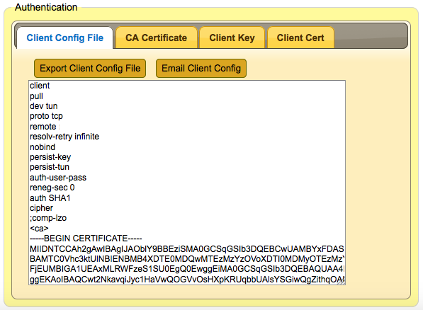Screen Shot SSL